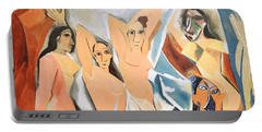 Les Demoiselles D'avignon Picasso Portable Battery Charger
