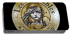 Les Miserables Portable Battery Charger by Ed Weidman