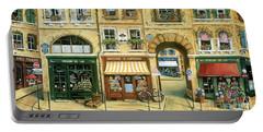 Les Rues De Paris Portable Battery Charger