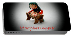 Portable Battery Charger featuring the photograph Let Every Heart A Manger Be by Dee Dee  Whittle