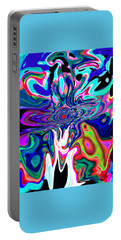 Jesus Talks Cross Original Contemporary Modern Abstract Expressionism Art Painting.  Portable Battery Charger