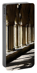 Portable Battery Charger featuring the photograph Let The Sun Shine Through by Wendy Wilton