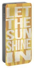 Let The Sunshine In Portable Battery Charger
