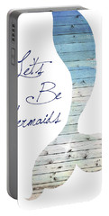 Let's Be Mermaids Portable Battery Charger