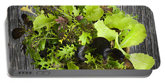 Lettuce Seedlings Portable Battery Charger