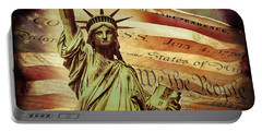 Declaration Of Independence Portable Battery Charger