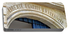 Liberte Egalite Fraternite Portable Battery Charger