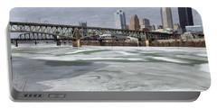 Liberty Bridge  Portable Battery Charger by Joyce  Wasser