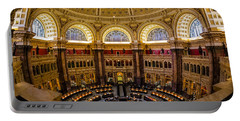 Library Of Congress Main Reading Room Portable Battery Charger