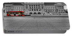 Portable Battery Charger featuring the photograph Library Of Congress by Peter Lakomy
