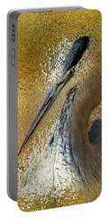Life In The Sunshine - Bird Art Abstract Realism Portable Battery Charger
