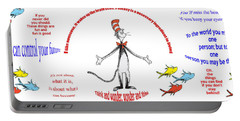 Life Words - Dr Seuss Portable Battery Charger
