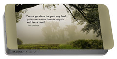 Life's Path Inspirational Art Portable Battery Charger