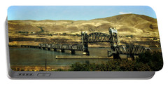 Lift Bridge Over The Columbia River Portable Battery Charger