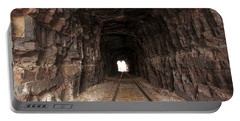 Light At The End Of The Tunnel Portable Battery Charger