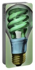 Light Bulb Portable Battery Charger