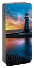 Light House Sunset Portable Battery Charger
