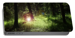 Light Of The Forest Portable Battery Charger