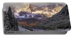 Light On Maroon Bells Portable Battery Charger