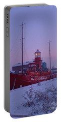 Portable Battery Charger featuring the photograph Light Ship by John Williams