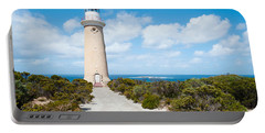 Lighthouse At Coast, Cape Du Couedic Portable Battery Charger