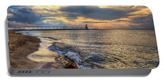 Lighthouse Drama Portable Battery Charger