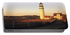 Lighthouse In The Field, Highland Portable Battery Charger