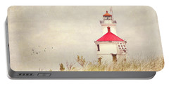 Lighthouse With Red Roof Portable Battery Charger