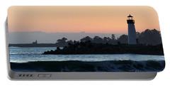 Lighthouses Of Santa Cruz Portable Battery Charger