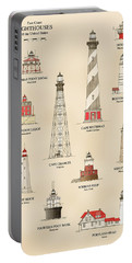 Lighthouses Of The East Coast Portable Battery Charger