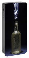 Portable Battery Charger featuring the photograph Lighting By The Quart - Light Painting by Steven Milner