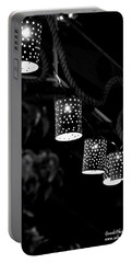 Portable Battery Charger featuring the digital art Lights by Gandz Photography
