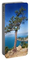 Portable Battery Charger featuring the photograph Liguria - Tigullio Gulf by Antonio Scarpi