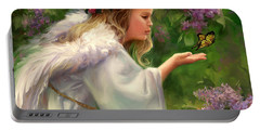 Lilac Angel Portable Battery Charger