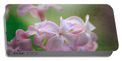 Lilac Dreaming  Portable Battery Charger by Kerri Farley