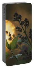 Lilacs At Sunset Portable Battery Charger