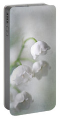 Lilies Of The Valley Portable Battery Charger