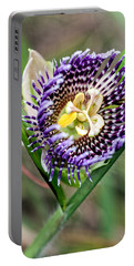 Portable Battery Charger featuring the photograph Lilikoi Flower by Dan McManus