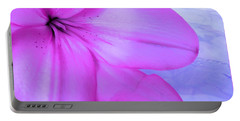 Lily - Digital Art Portable Battery Charger
