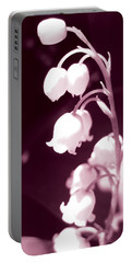 Lily Of The Valley Portable Battery Charger by Eva Csilla Horvath