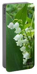 Portable Battery Charger featuring the photograph Lily Of The Valley by Sue Andrus