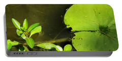 Lily Pad Portable Battery Charger