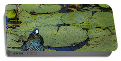 Lily Pad With Bird2 Portable Battery Charger
