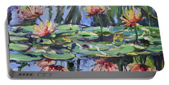 Lily Pond Reflections Portable Battery Charger
