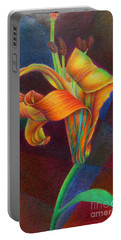Lily's Rainbow Portable Battery Charger