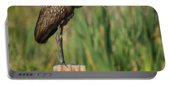 Limpkin Portable Battery Charger by Jane Luxton
