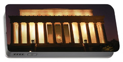 Lincoln Memorial Washington Dc Usa Portable Battery Charger by Panoramic Images