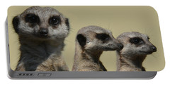 Line Dancing Meerkats Portable Battery Charger