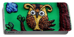 Lint Owl Detail Portable Battery Charger