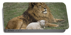 Lion And Lamb Portable Battery Charger